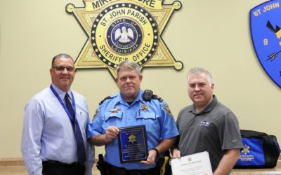 Chris Crawford Named Officer of the Month