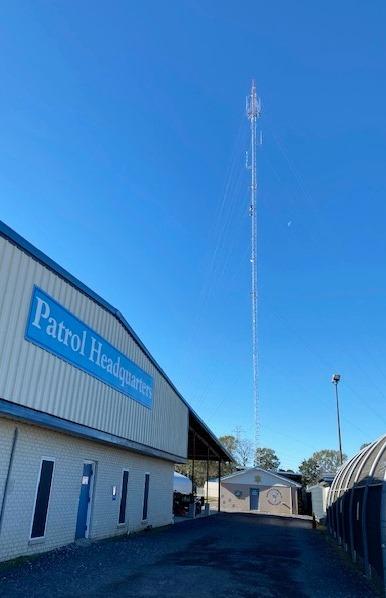 New Communications Tower Enhances Radio Coverage