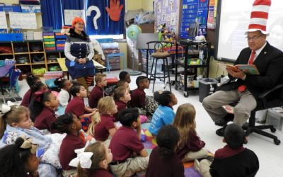 SJSO Celebrates Read Across America With Students