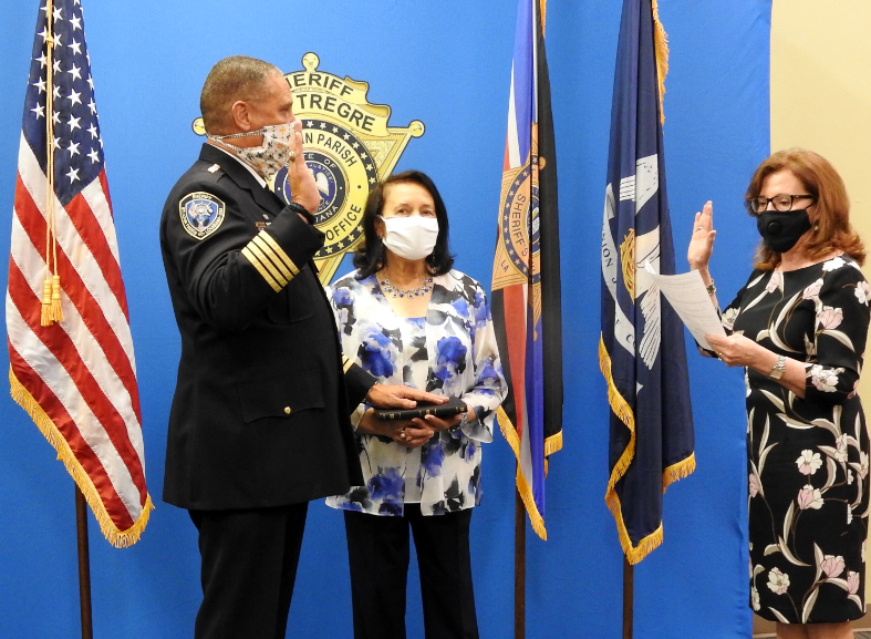 Sheriff Tregre Takes Oath of Office for Third Term