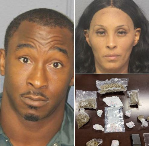 Man and Woman Arrested During Drug Bust
