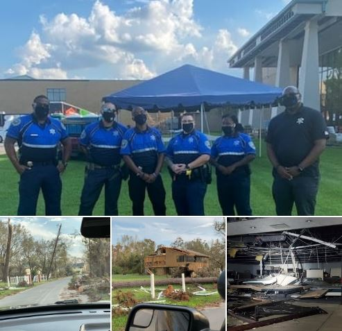 SJSO Assists Lake Charles Officers and Residents