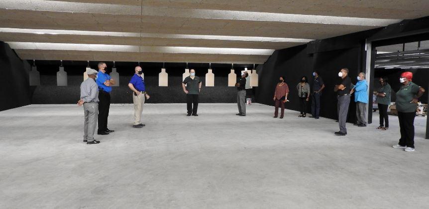 CA Grads Get a Tour of New Training Center