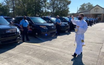 Blessing of the Fleet Celebrated at St. Joan of Arc Church