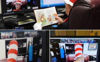 Sheriff Participates in Read Across America