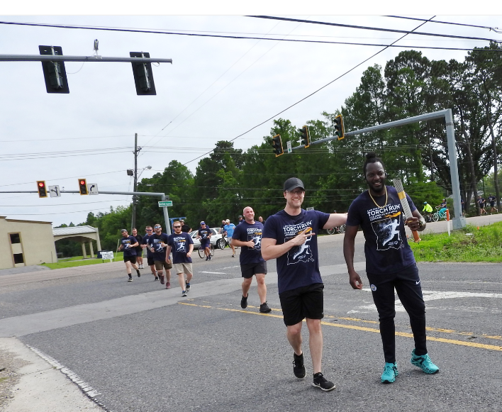 SJSO Participates in Law Enforcement Torch Run for Special Olympics Louisiana