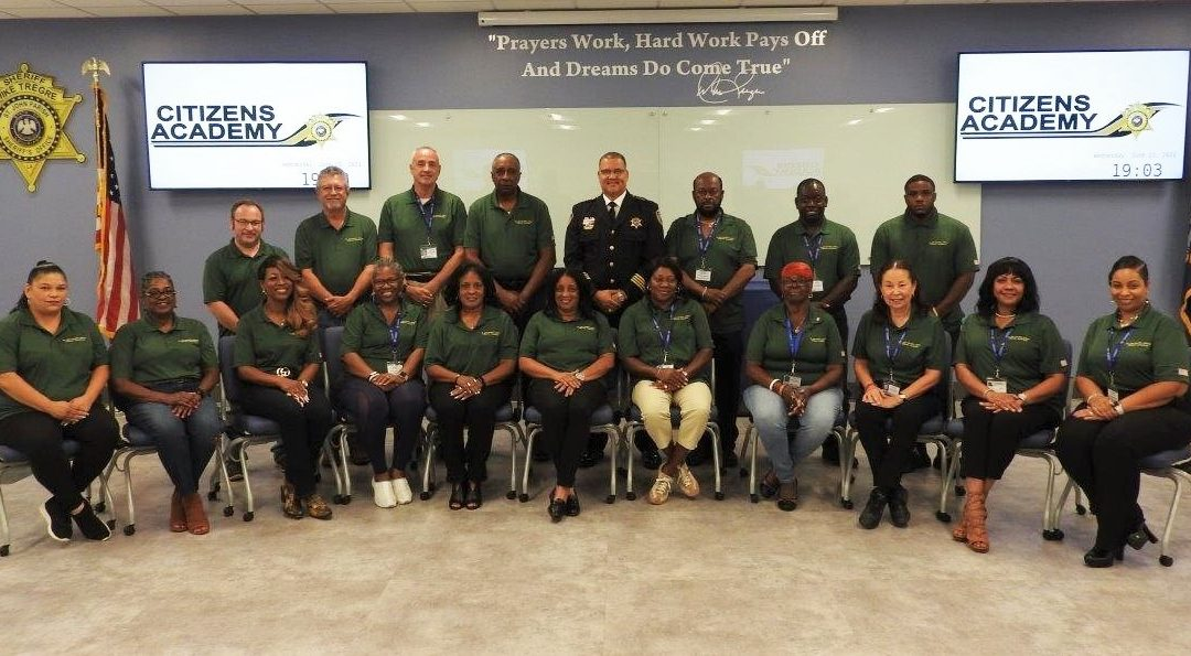 Citizens Academy Class of 2021 Graduates