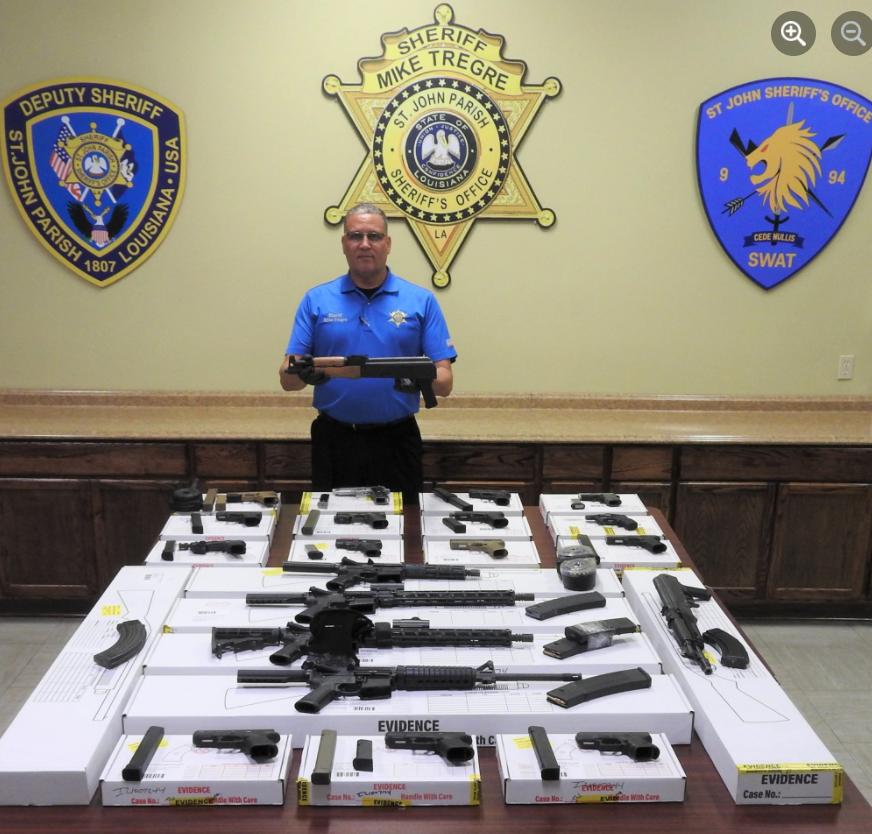Illegal Firearms Seized and Arrests Made